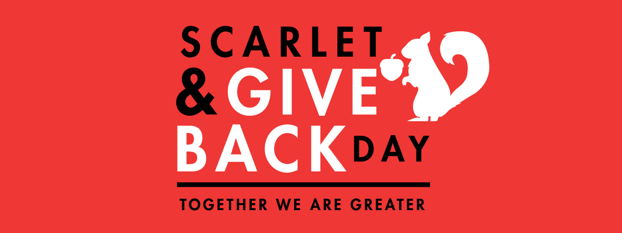 Scarlet & Give Back Day - Together we are greater