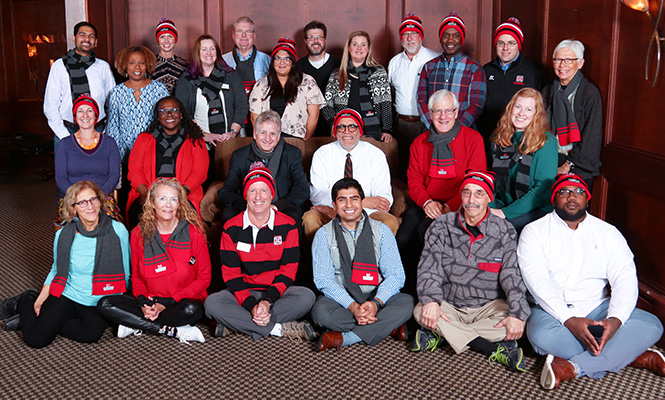 Group shot of the Grinnell College Alumni Council.