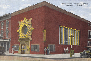 The Mercantile Building in Grinnell, IA.