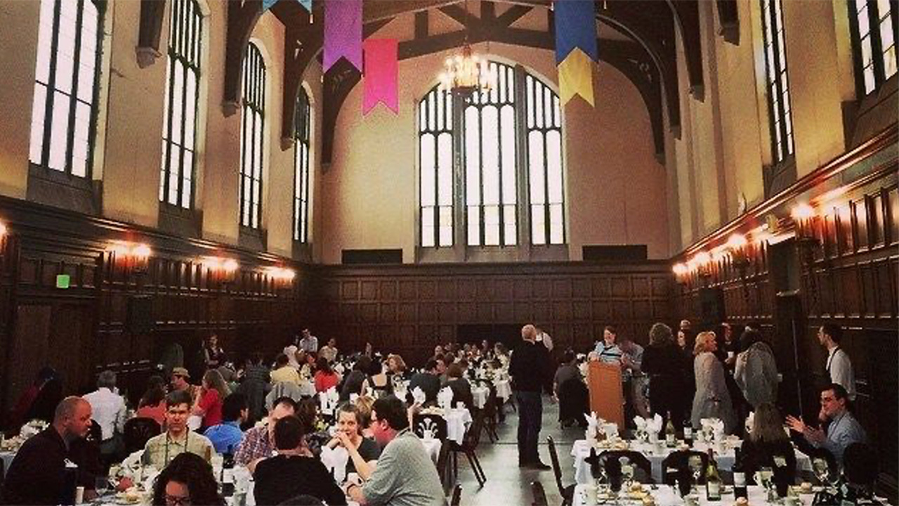 Main Quad dining room in color