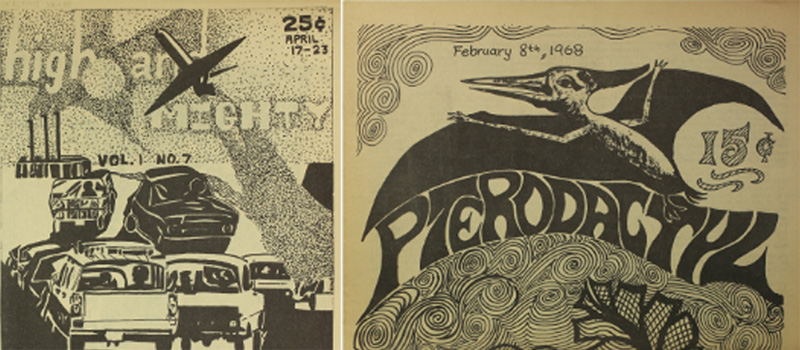 Covers for High and Might and Pterodactyl