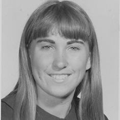 Lorrie Buchanan Alves in 1969