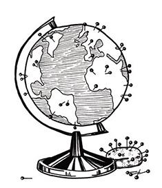Globe Illistration