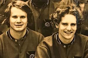 Doug Johnson '77 & John Chambers '77