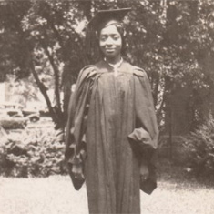 Edith Renfrow Smith '37. Smith was the College's first black female graduate.