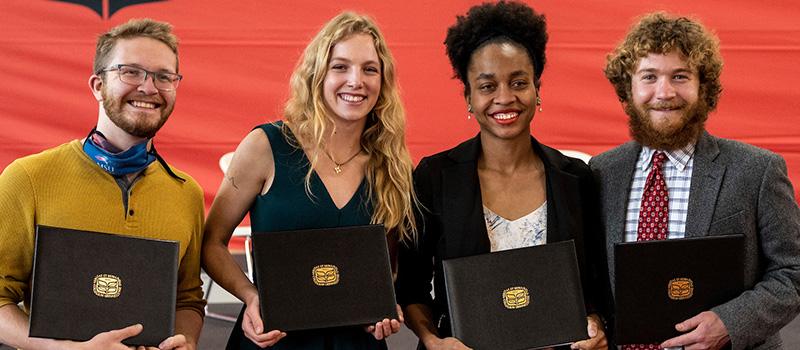 Alumni Senior Award winners for 2021