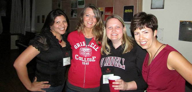 Karmi Mattson (Far Right) and her college roomates.
