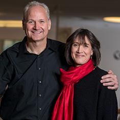 John Kispert '85 and Jill Goldberg Kispert