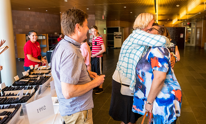 Grinnell welcomed more than 1,300 alumni back to campus for Reunion this year.