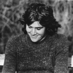 Paul on campus during the late 1970's.