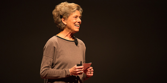 Jody Haymond '67 presents at TEDxGrinnellCollege.
