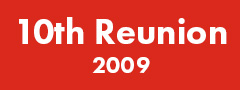 10th Reunion (2009) Button