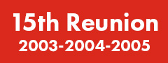 15th Reunion (2003-2004-2005) Button