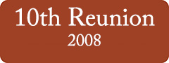 Button: 10th Reunion, 2008