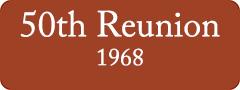 Button: 50th Reunion, 1968