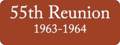 Button: 55th Reunion, 1963 - 1964