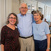 Luther and Jenny Erickson with Leslie Lyons.
