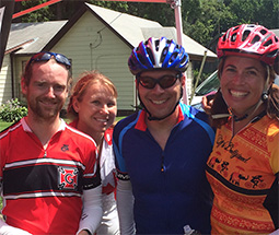 Team Grinnell RAGBRAI riders