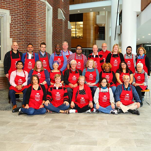 Group photo of the Alumni Council taken Fall 2019.