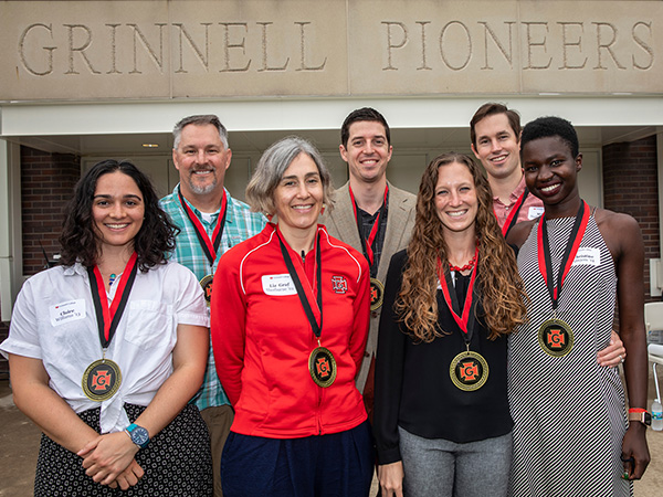 Grinnell College Athletic Hall of Fame 2020 Inductees.