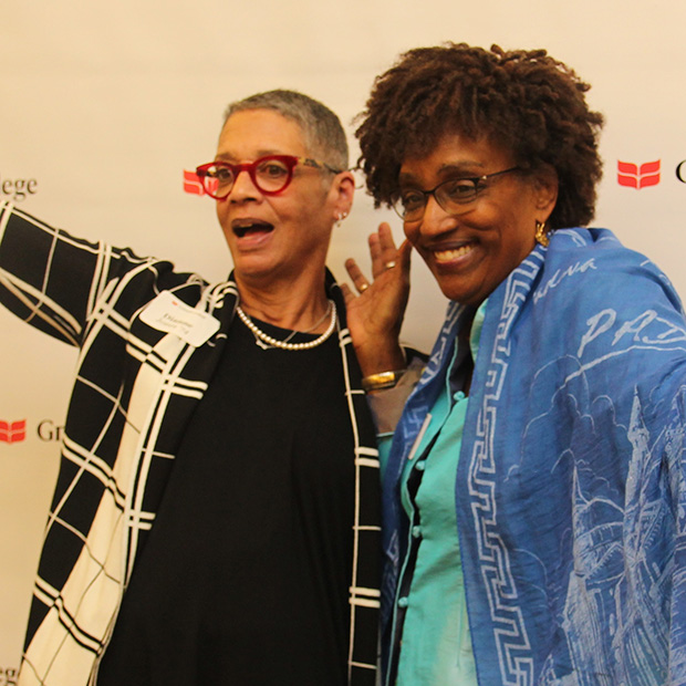 Dianne Jones '74 and Kesho Scott