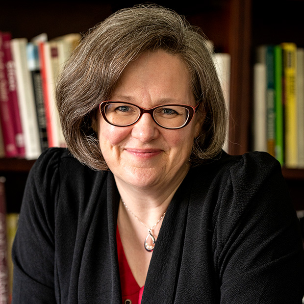 Grinnell College President Anne Harris